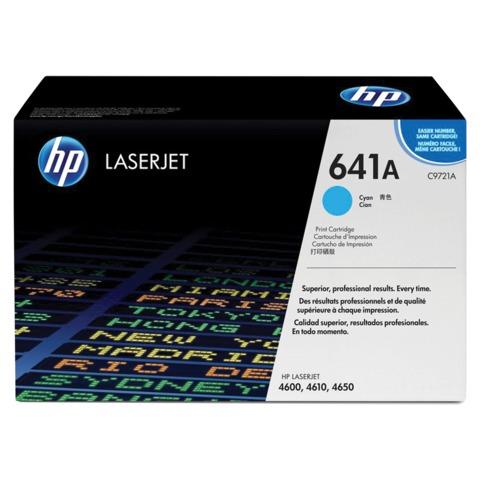 Картридж лазерный HP (C9721A) ColorLaserJet 4600/<wbr/>4650, голубой, оригинальный, ресурс 8000 стр.
