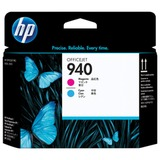 Головка печатающая для плоттера HP (C4901A) OfficeJet Pro 8000/<wbr/>8500, №940, пурпурная и голубая, оригинальная