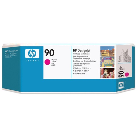 Головка печатающая для плоттера HP (C5056A) DesignJet 4000/4020/4500/4520, №90, пурпурная, оригинальная