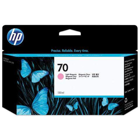 Картридж струйный HP (C9455A) DesignJet Z2100/<wbr/>Z5200/<wbr/>Z5400, №70, светло-пурпурный, оригинальный