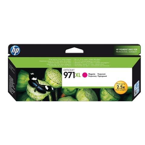 Картридж струйный HP (CN627AE) OfficeJet Pro X576/<wbr/>476/<wbr/>451/<wbr/>551, №971XL, пурпурный, оригинальный, ресурс 6600 стр.