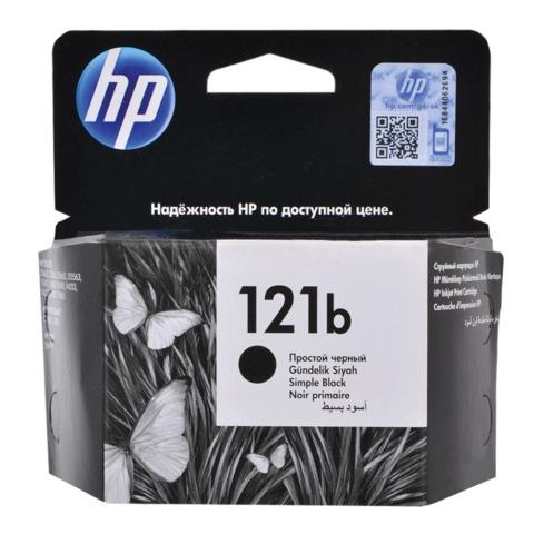 Картридж струйный HP (CC636HE) DeskJet D2563/F2483/F4283/ENVY110, №121b, черный, оригинальный, ресурс 200 стр.