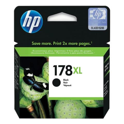 Картридж струйный HP (CN684HE) Photosmart 5515/6510/7510/C5383 и др., №178XL, черный, оригинальный, ресурс 550 стр.