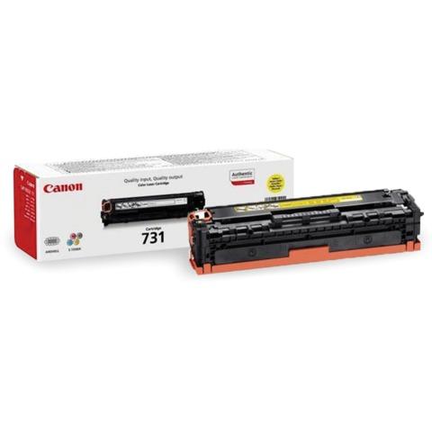 Картридж лазерный CANON (731Y) LBP7100/<wbr/>7110/<wbr/>MF8230/<wbr/>8280, желтый, оригинальный, ресурс 1500 стр.