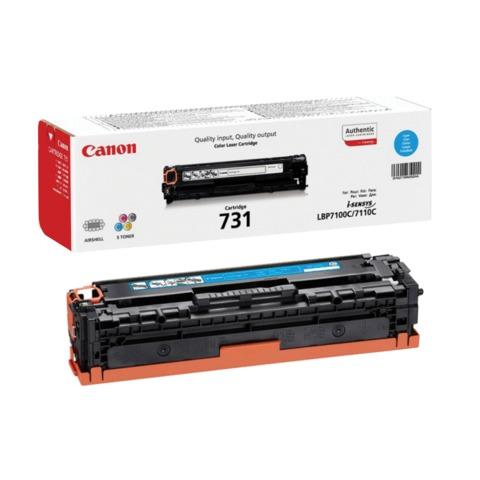 Картридж лазерный CANON (731C) LBP7100/7110/MF8230/8280, голубой, оригинальный, ресурс 1500 стр.
