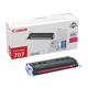 Картридж лазерный CANON (707M) LBP5000/<wbr/>5100, пурпурный, оригинальный, ресурс 2000 стр.