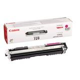 Картридж лазерный CANON (729M) LBP7010C/<wbr/>7018C, пурпурный, оригинальный, ресурс 1000 стр.