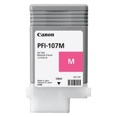Картридж струйный CANON (PFI-107M) iPF680/<wbr/>685/<wbr/>780/<wbr/>785, пурпурный, оригинальный, 130 мл
