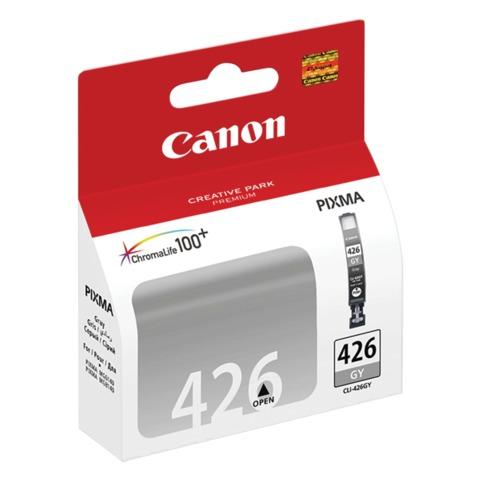 Картридж струйный CANON (CLI-426GY) PIXMA MG6140/<wbr/>6240/<wbr/>8140/<wbr/>8240, серый, оригинальный, 1395 стр.