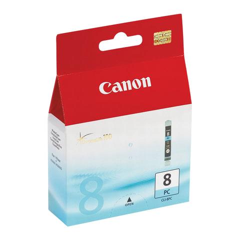 Картридж струйный CANON (CLI-8PC) iP6600D/<wbr/>6700/<wbr/>MP970/ Pixma 9000, голубой, оригинальный, 450 стр.
