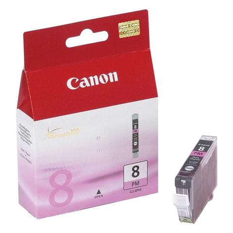 Картридж струйный CANON (CLI-8PM) iP6600D/<wbr/>6700/<wbr/>MP970/ Pixma 9000, пурпурный, оригинальный, 450 стр.