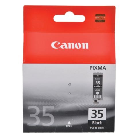 Картридж струйный CANON (PGI-35) PIXMA ip100, черный, оригинальный, 190 стр.