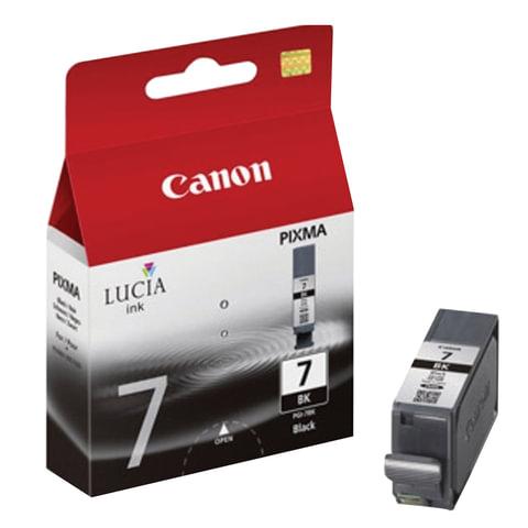 Картридж струйный CANON (PGI-7BK) iX7000/<wbr/>MX7600, черный, оригинальный, 570 стр.