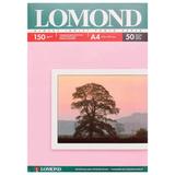 Фотобумага LOMOND для струйной печати, A4, 150 г/<wbr/>м<sup>2</sup>, 50 л., односторонняя, глянцевая