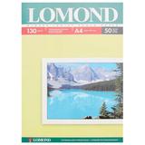 Фотобумага LOMOND для струйной печати, A4, 130 г/<wbr/>м<sup>2</sup>, 50 л., односторонняя, глянцевая