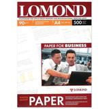Фотобумага LOMOND для струйной печати, A4, 90 г/<wbr/>м<sup>2</sup>, 500 л., односторонняя, матовая