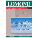 Фотобумага LOMOND для струйной печати, A4, 215 г/<wbr/>м<sup>2</sup>, 50 л., односторонняя, глянцевая, 0102057