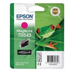 Картридж струйный EPSON (C13T05434010) Stylus Photo R800/<wbr/>R1800, пурпурный, оригинальный