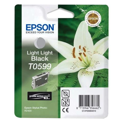 Картридж струйный EPSON (C13T05994010) Stylus Photo R2400, светло-серый, оригинальный