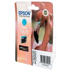 Картридж струйный EPSON (C13T08724010) Stylus Photo R1900, голубой, оригинальный