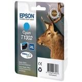 Картридж струйный EPSON (C13T13024010) Stylus SX525WD/<wbr/>620FW/<wbr/>OfficeBX320FW/<wbr/>525WD и другие, голубой, XL, оригинальный