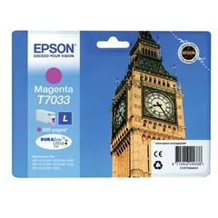 Картридж струйный EPSON (C13T70334010) WP-4015/<wbr/>4025/<wbr/>4095/<wbr/>4515/<wbr/>4525/<wbr/>4535/<wbr/>4545/<wbr/>4595, пурпурный, оригинальный