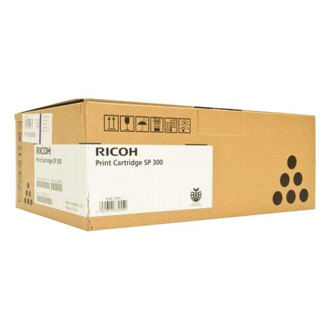 Картридж лазерный RICOH (SP300) Aficio SP 300DN, черный, оригинальный, ресурс 1500 стр.