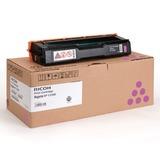 Картридж лазерный RICOH (407644) SPС220S/<wbr/>C221SF и другие, пурпурный, оригинальный, ресурс 2000 стр.