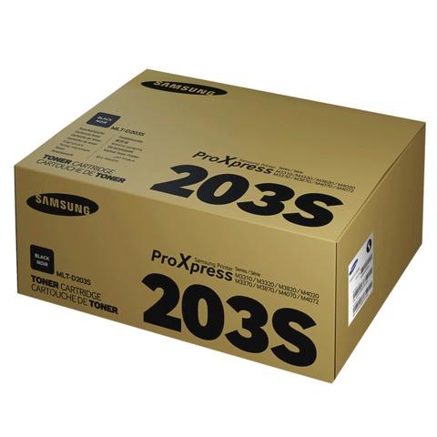 Картридж лазерный SAMSUNG (MLT-D203S) ProXpress M3820/<wbr/>4020/<wbr/>3870/<wbr/>4070, оригинальный, ресурс 3000 стр.