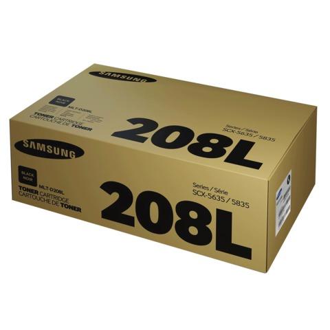 Картридж лазерный SAMSUNG (MLT-D208L) SCX-5635FN/5835FN, оригинальный, ресурс 10000 стр.
