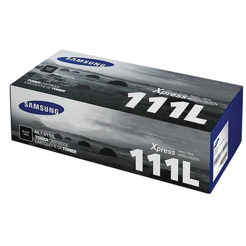 Картридж лазерный SAMSUNG (MLT-D111L) SL-M2020/<wbr/>M2020W/<wbr/>M2070/<wbr/>M2070W, оригинальный, ресурс 1800 стр.