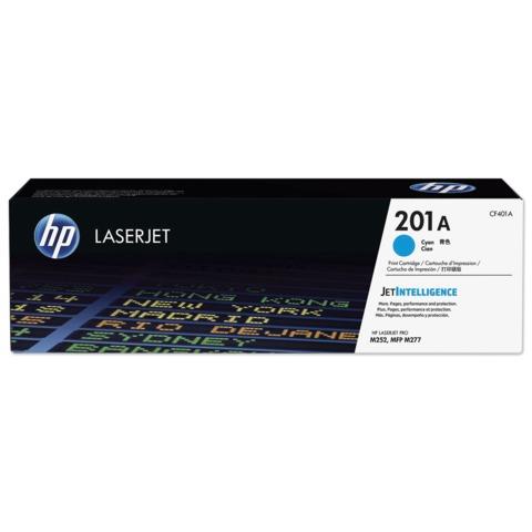 Картридж лазерный HP (CF401A) LaserJet Pro M277n/<wbr/>dw/<wbr/>M252n/<wbr/>dw, голубой, оригинальный, ресурс 1400 стр.