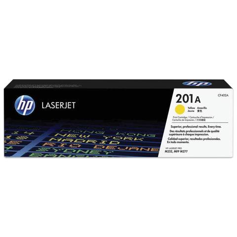 Картридж лазерный HP (CF402A) LaserJet Pro M277n/dw/M252n/dw, желтый, оригинальный, ресурс 1400 стр.