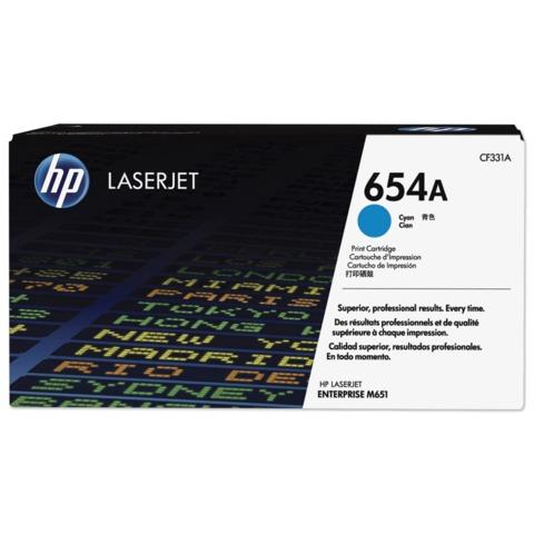 Картридж лазерный HP (CF331A) LaserJet Pro M651n/<wbr/>M651dn/<wbr/>M651xh, голубой, оригинальный, ресурс 15000 стр.