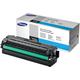 Картридж лазерный SAMSUNG (CLT-C506L) CLP-680/<wbr/>CLX-6260, оригинальный, голубой, ресурс 3500 стр.