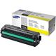 Картридж лазерный SAMSUNG (CLT-Y506L) CLP-680/<wbr/>CLX-6260, оригинальный, желтый, ресурс 3500 стр.