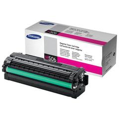 Картридж лазерный SAMSUNG (CLT-M506L) CLP-680/<wbr/>CLX-6260, оригинальный, пурпурный, ресурс 3500 стр.