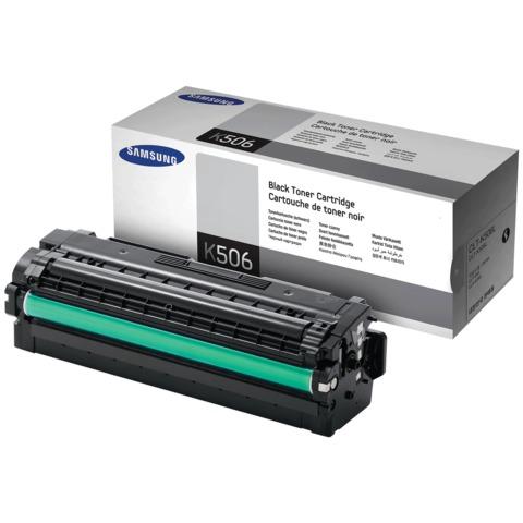 Картридж лазерный SAMSUNG (CLT-K506L) CLP-680/CLX-6260, оригинальный, черный, ресурс 6000 стр.