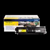 Картридж лазерный BROTHER (TN321Y) HL-L8250CDN/<wbr/>MFC-L8650CDW, желтый, оригинальный, ресурс 1500 стр.