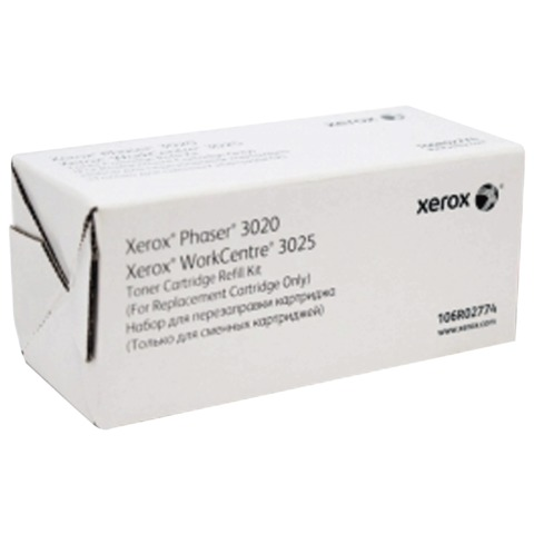 Заправочный комплект XEROX (106R02774) Phaser 3020/<wbr/>WC3025, оригинальный, ресурс 1500 стр.