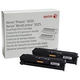 Картридж лазерный XEROX (106R03048) Phaser 3020/<wbr/>WC3025, оригинальный, ресурс 1500 стр., комплект 2 шт.