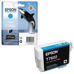 Картридж струйный EPSON (C13T76024010) Epson SC-P600, голубой, оригинальный