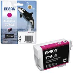 Картридж струйный EPSON (C13T76034010) Epson SC-P600, пурпурный, оригинальный