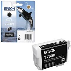 Картридж струйный EPSON (C13T76084010) Epson SC-P600, черный матовый, оригинальный