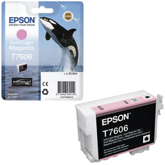 Картридж струйный EPSON (C13T76064010) Epson SC-P600, светло-пурпурный, оригинальный