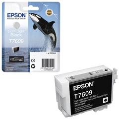 Картридж струйный EPSON (C13T76094010) Epson SC-P600, светло-серый, оригинальный