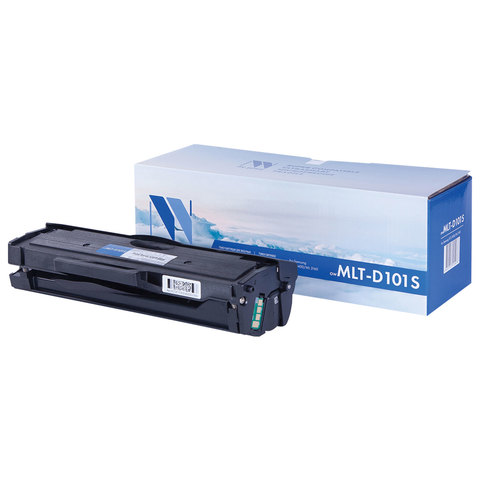 Картридж лазерный SAMSUNG (MLT-D101S) ML2160/65/SCX-3400/3405, ресурс 1500 стр., NV PRINT совместимый