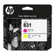 Головка печатающая для плоттера HP (CZ678A) HP Latex 310/<wbr/>330/<wbr/>360/<wbr/>370, №831, пурпурный/<wbr/>желтый, оригинальный