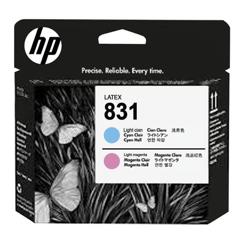 Головка печатающая для плоттера HP(CZ679A)HP Latex 310/330/360/370 №831, цвет чернил светло-пурпурный/светло-голубой, оригинальная