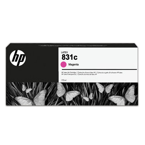 Картридж струйный для плоттера HP (CZ696A) HP Latex 310/<wbr/>330/<wbr/>360/<wbr/>370, №831c, пурпурный, 775 мл, оригинальный